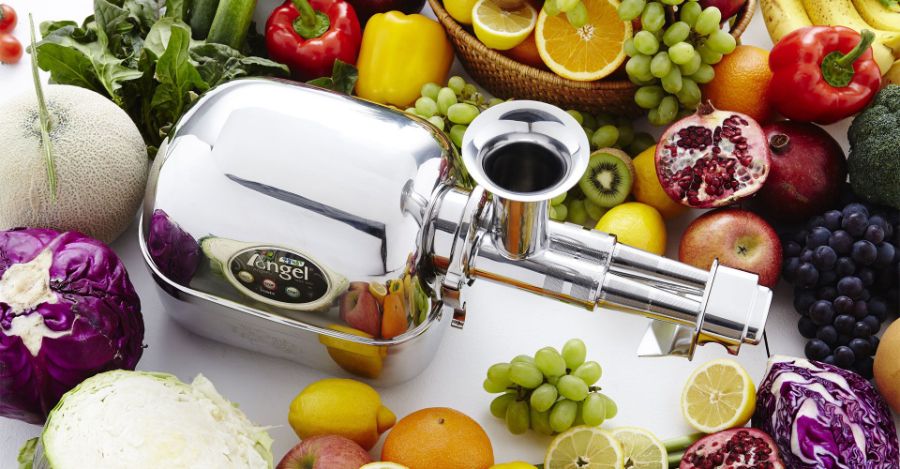 Angel Juicer The only juice extractor totally in stainless steel