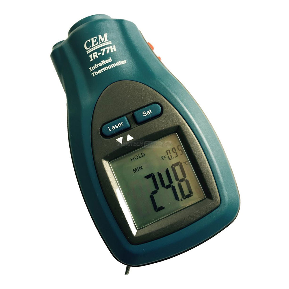 Pocket Thermometer with CK77L Infrared Laser Pointer for Food Preservation