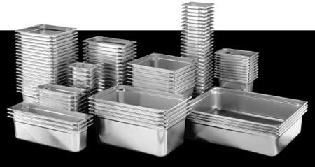 Contenitore Gastronorm per Cuocere Sottovuoto il Cibo in Acciaio Inox Resistente alla Corrosione