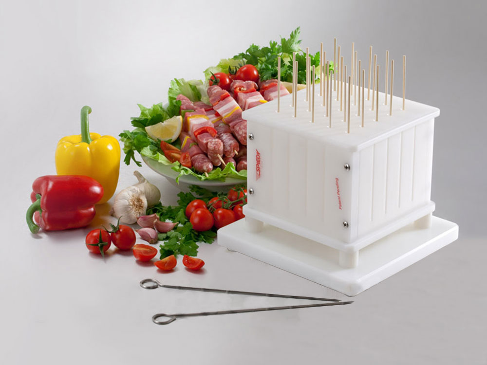 make automatic fast skewers