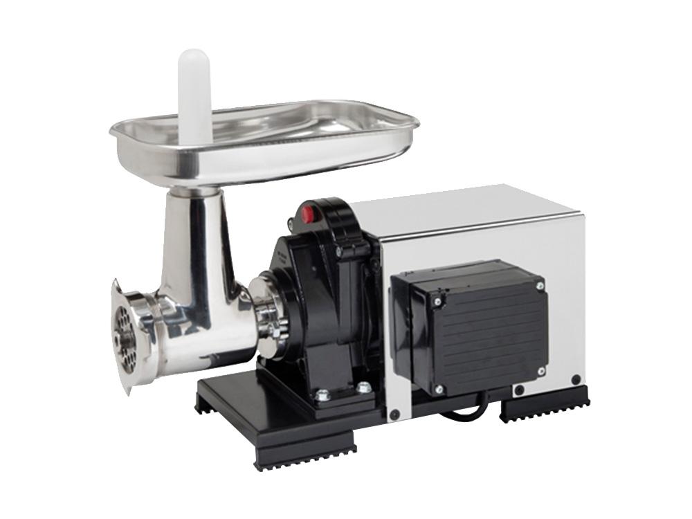 9503 NPSP Semiprofessional Meat Grinder 1200 W With Electric Motor and Cover n.22 to Grind Meat