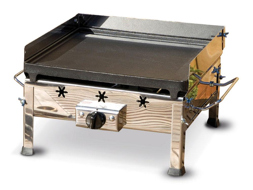 Vendita plancha inox ferraboli il piccolo barbecue trasportabile in macchina acquista su - Barbecue a gas da tavolo ...