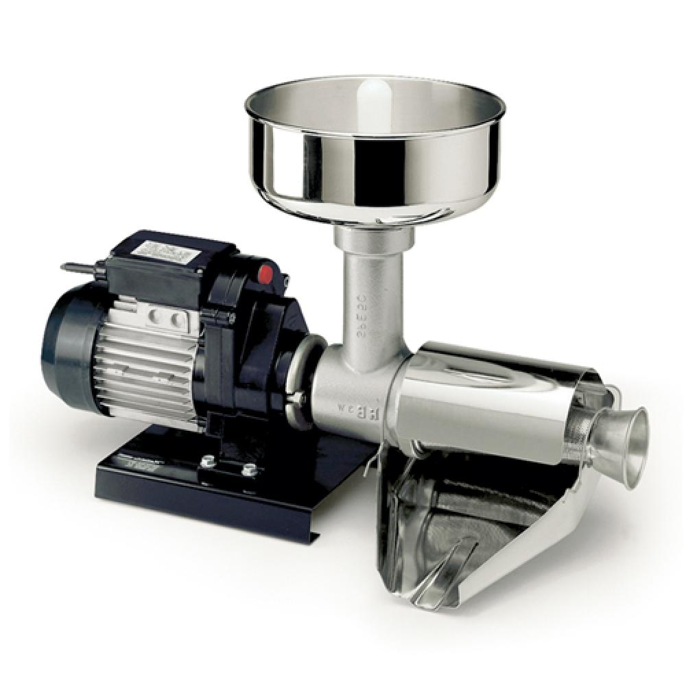 9004 N Spremipomodoro Elettrico n.5 Reber Motore 500 W per Passata di Pomodoro o Marmellate