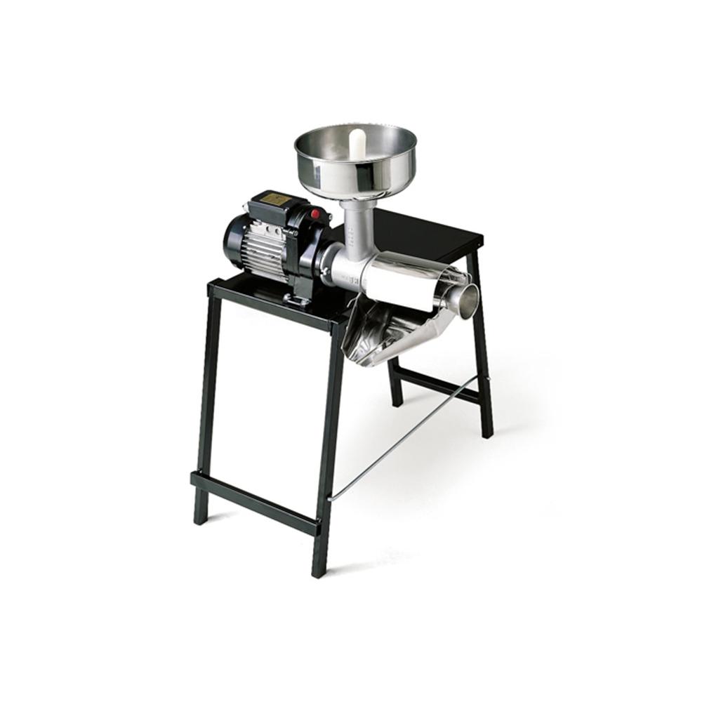 9005 N Spremipomodoro Elettrico n.5 Reber Motore 500 W con Tavolo Incorporato per Conserve di Pomodori e Marmellate di Frutta