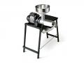 9005 N Spremipomodoro Elettrico con Tavolo Incorporato n.5 Reber Motore 500 W per Passata di Pomodoro Marmellata e Succhi di Frutta