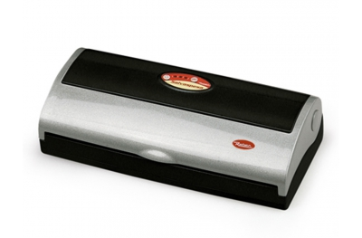 9344 N Salvaspesa Sottovuoto Nero e Grigio 32cm Reber per Togliere Aria dai Sacchetti Alimentari