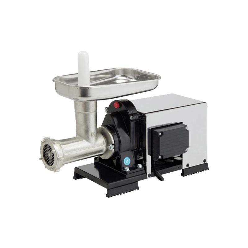 9501 NSP Macinacarne Automatico 500 W n.12 per Preparare Tritato di Carne Fatto in Casa Reber
