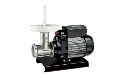 9502 N Tritacarne Semiprofessionale da 400 W con Motore Elettrico n.5 Reber Ideale per Insaccare