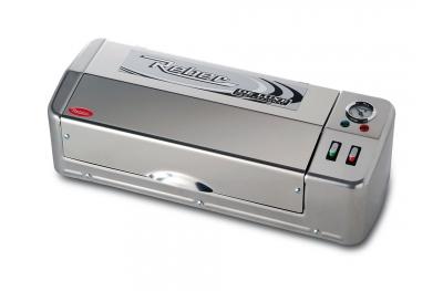 9707 N Macchina Sottovuoto De Luxe Inox Professional 32cm Reber per Conservare