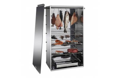 Affumicatore Professionale 10042N in Acciaio Inox per Carne Salumi Formaggi Pesce