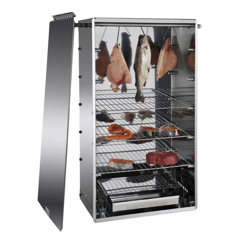 Affumicatore Professionale 10042N in Acciaio Inox per Produttori di Carne e Formaggio