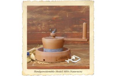 MH4 Macinacereali Manuale per Macinare a Manovella Mulini di Salisburgo Made in Austria