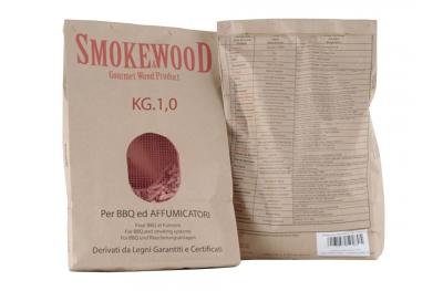 Cippatura Pressata Faggio Pioppo e Rovere per Barbecue e Affumicatori 1Kg Smoke&Wood