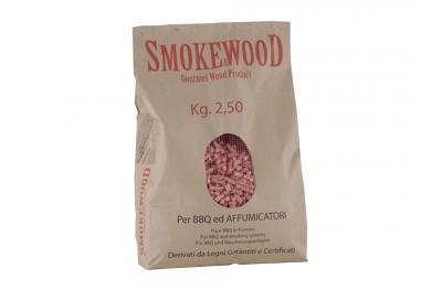 Cippatura Pressata Varie Essenze Legno per BBQ e Affumicatori 2,5Kg Smoke&Wood