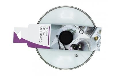 Coperchio di Vetro per Padella Diametro 24cm Linea Roccia Qualità Made in Italy