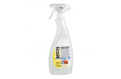 Alcosan Detergente Igienizzante Alcolico 750 ml per Pulire l'Affumicatore