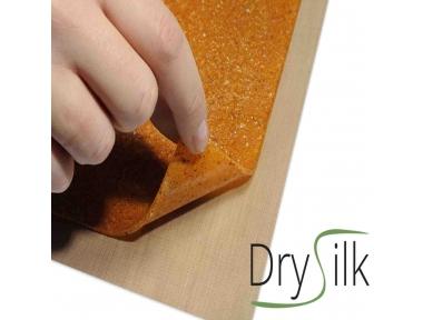 Dry Silk 5 Fogli Antiaderenti per Essiccare Cibi con Succo Puree Foglie e Fiori negli Essiccatori Tauro Biosec