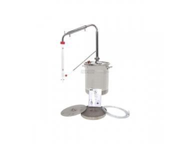 Estrattore per Oli Essenziali da 20 Litri per Distillare Olio dalle Piante Officinali col Vapore