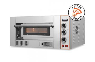Forno a Gas per Cucinare fino a 4 Pizze Insieme RG4 Resto Italia per Pizzerie e Rosticcerie