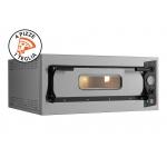Forno Elettrico per 4 Pizze Eco 4 Acciaio 230V-400V per Pizzaioli Professionisti
