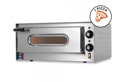 Forno Elettrico per Pizza Small-G Monofase 230V 100% Made in Italy by Foxchef Essentials