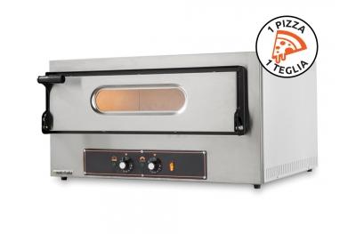 Forno Elettrico per Pizze e Teglie Kube 1 Monofase 230V Made in Italy by Foxchef Essentials