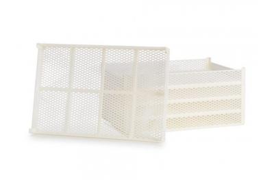 Kit 5 Cestelli in Plastica Alimentare CEB 10 per Ricambio e Sostituzione su Essiccatori Domus e Silver Tauro Biosec