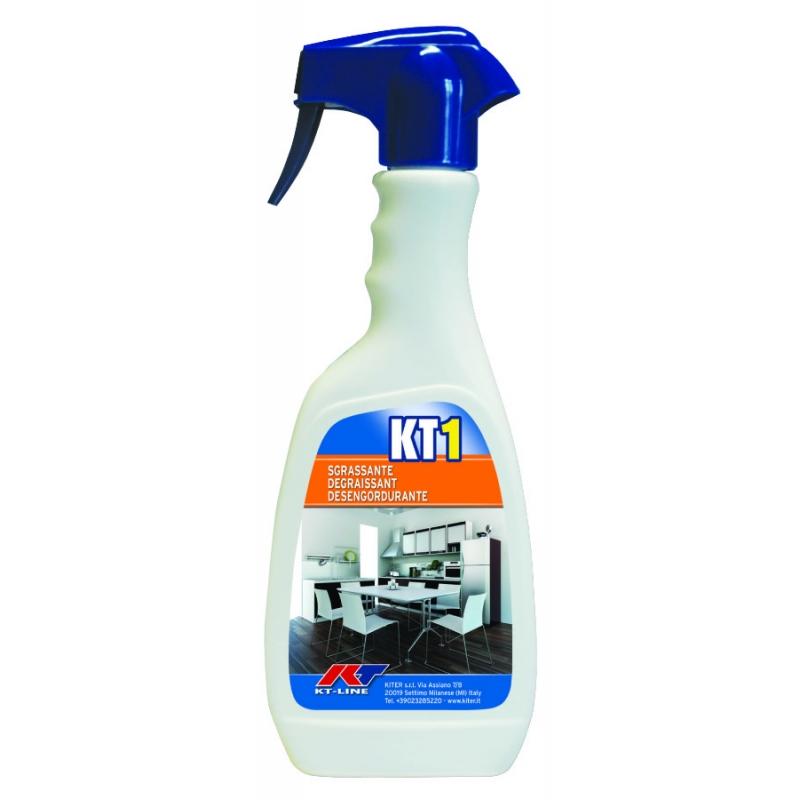 KT1 Sgrassante Universale Kiter KT-Line 500ml Flacone con Nebulizzatore