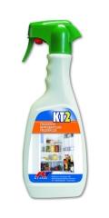 KT2 Detergente per Frigoriferi e Congelatori Kiter KT-Line 500ml Igenizzante e Deodorante