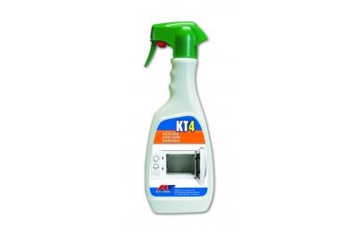 KT4 Sgrassante Sanificante per Forni Microonde Kiter KT-Line 500ml Flacone con Nebulizzatore