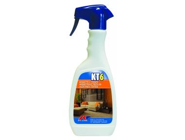 KT6 Smacchiatore Sanificante Rapido per Moquette e Tessuti Kiter KT-Line 500ml