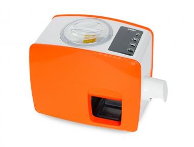 Macchina per Fare Olio in Casa Yoda Colore Arancio Idea Regalo