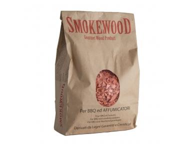 Nocciolo Selvatico Trucioli per Affumicatura Vero Legno Gourmet Trentino Naturale 3,3 Lt Smoke&Wood