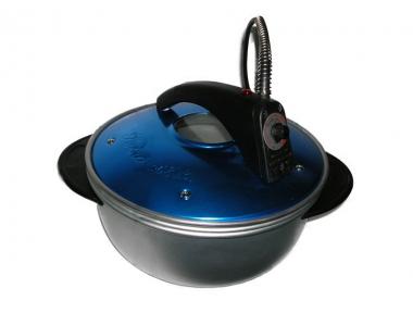 Petronilla Pentola Fornetto Elettrico Colore Blu Cucina in Spazi Ridotti