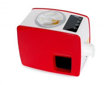 Spremi Olio a Freddo Yoda Casalinga Colore Rosso Design Elegante e Moderno