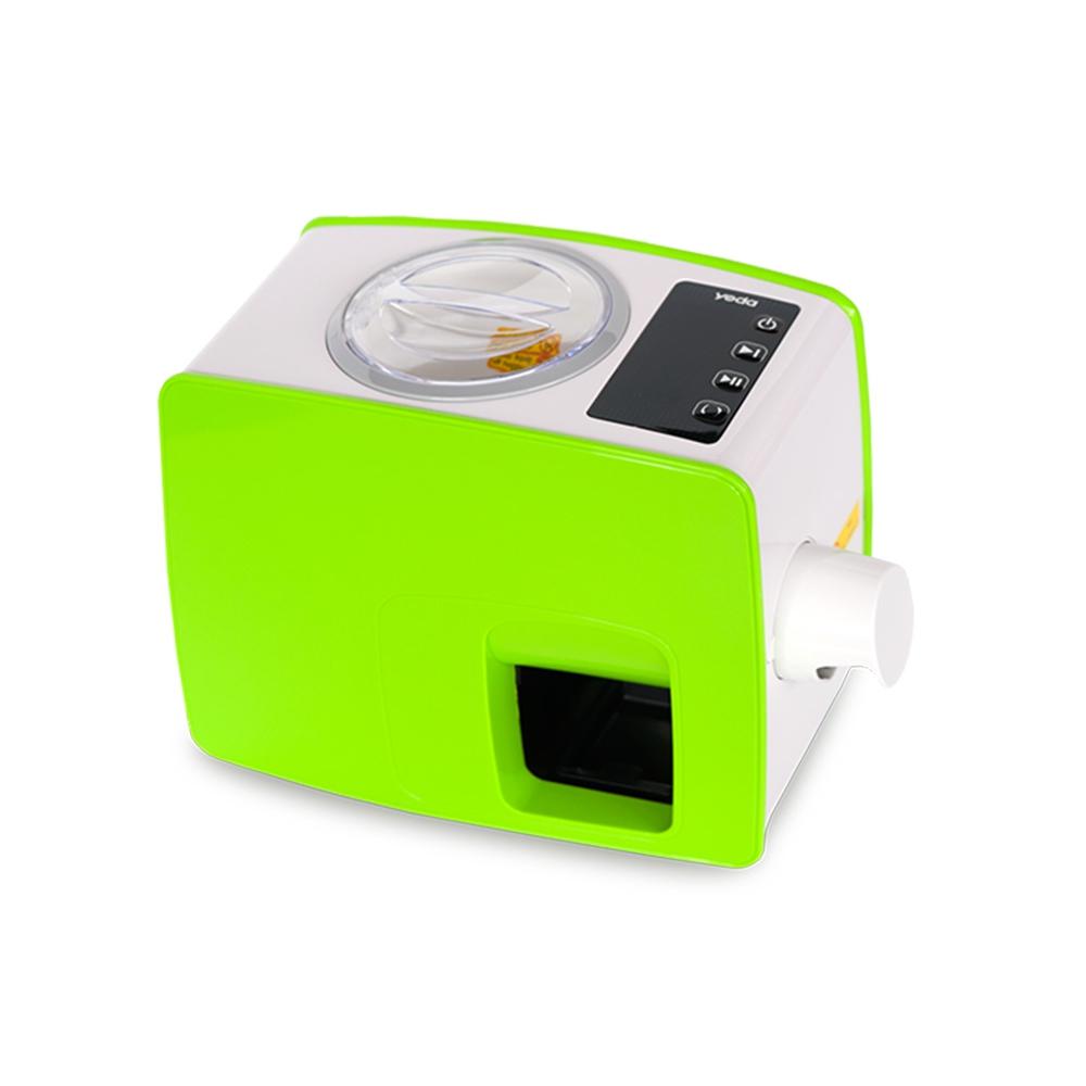 Spremitrice Olio a Freddo Yoda per la Casa Colore Verde Design Compatto Facile da Usare