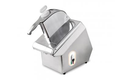 Tagliaverdure Elettrico Titanium 230V per Tagliare Frutta e Verdura in Modo Automatico by Resto Italia