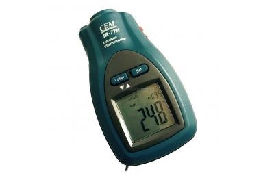 Termometro Tascabile con Puntatore Laser Infrarosso CK77L per Misurare Temperatura Cibo
