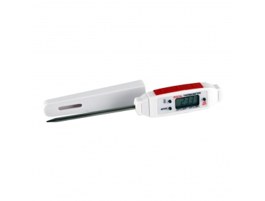 Termometro Alimentare con Sonda Lunga 80 mm per Cottura al Cuore della Carne