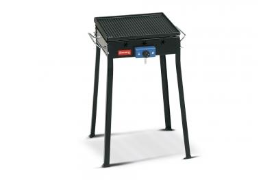 Mono Ferraboli Barbecue a Gas GPL in Ghisa Solo Piastra Piccolo Economico e Facile da Smontare